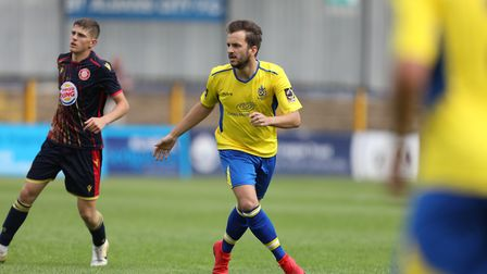 Sam Merson of St Albans during St Albans City vs Stevenage, Friendly Match Football at Clarence Park