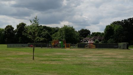 The playground on Bernards Heath. Picture: Danny Loo