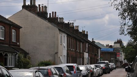 The town end of Sandridge Road is lined with period properties. Picture: Danny Loo