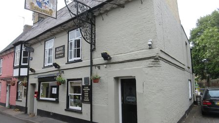 The Oliver Cromwell pub in St Ives