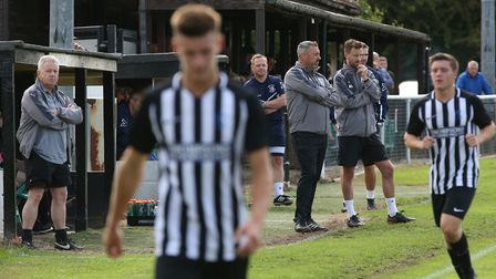 Colney Heath manager Ryan Thompson is expecting a few selection headaches this year. Picture: DANNY