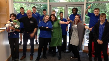 St Luke's School pupils completed a 10-week sustainability project for SEN (special educational need
