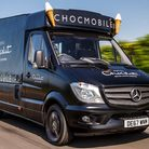 Hotel Chocolat's 'Chocmobile' has been stolen from Mint House in Royston. Picture: Hotel Chocolat