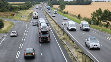 Highways England have warned drivers about driving in the heat.