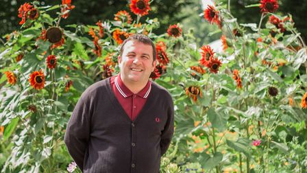 Chris Collins, head of organic horticulture at Garden Organic and former Blue Peter gardener. Pictur