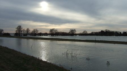 A small stretch of the the Ouse Washes. Picture: Environment Agency