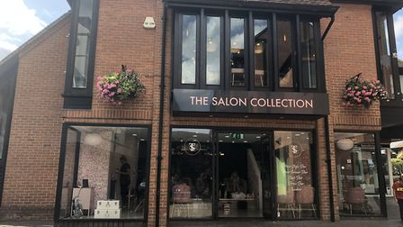 Thieves made off with the till from St Albans salon The Salon Collection in The Maltings this aftern