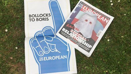 Pick up a free March for Change poster in this week's edition of The New European. Picture: Archant
