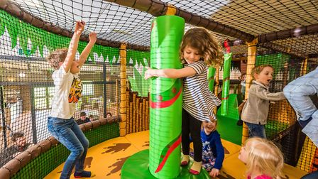 Leo's Funzone, indoor adventure play centre in Huntingdon and St Neots. Photo: One Leisure/Alan Benn