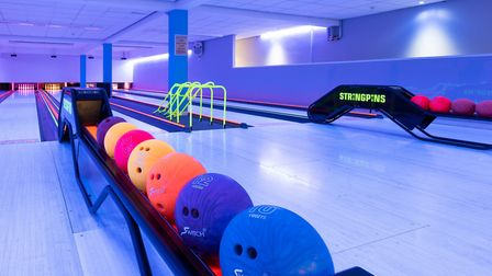 Tenpin bowling venue at One Leisure St Ives. Photo: One Leisure.