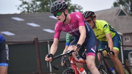 Verulam Reallymoving's Jamie Maxen in action at the Assen Youth Tour.