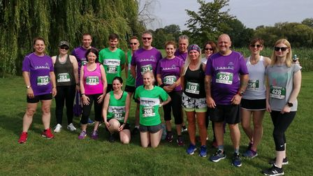 Riverside Runners members who took part in the Riverside 10k are Joanne Bowers, Zoe Eyre, Chris Dows