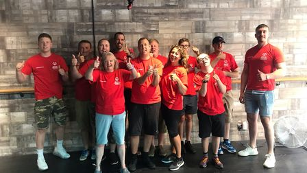 Special Olympics athletes from St Albans visited Swetbox fitness studio, which is run by Nicola Kalo