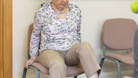 Anne Keane has received ongoing hospice treatment from Rennie Grove at Grove House in St Albans. Pic