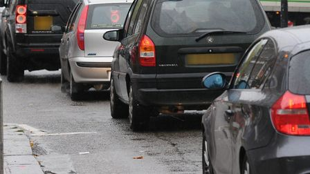 There is heavy traffic on the A414 heading east into London Colney this evening after reports of a c