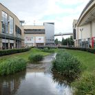 Hemel's Riverside shopping centre has branches of Debenhams and TK Maxx, among other amenities. Pict