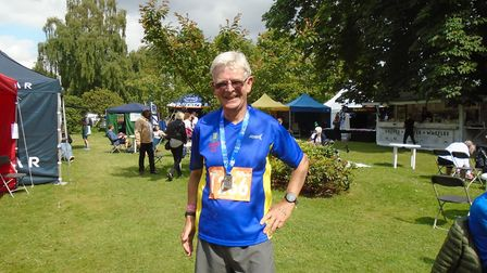 Jack Brooks at the Hever Castle Trail Marathon. Picture: Submitted by Westminster Lodge