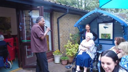 The fundraising barbecue at Richard Cox House in Royston. Picture: Richard Cox House