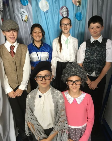 Winhills pupils performed the X Factory