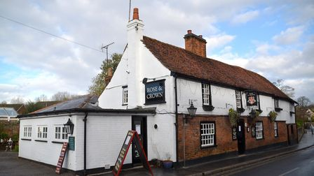 The Rose and Crown. Picture: Kevin Lines