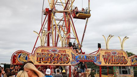 Ferris Wheel queues grow at Meraki Festival 2018. Picture: KEVIN RICHARDS