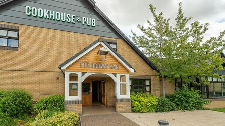Formerly Brewers Fayre, The Highwayman has undergone a refurbishment and reopened on July 23. Photo: