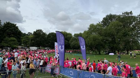 There were nearly 2,000 runners at St Albans Race for Life 2019. Picture: Annie Ashwell