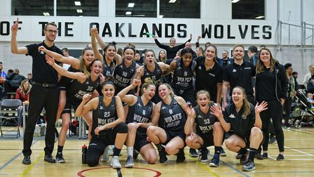 Oaklands Wolves' first game at home in the new season will be against London Lions in October. Pictu
