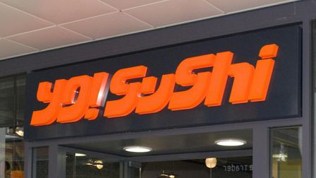 YO! Sushi have posted a recruitment ad looking for staff in Royston. Picture: Paul Green