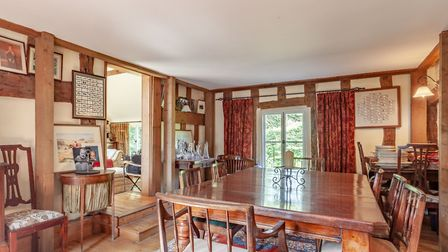 One of the main houses's four good sized reception rooms. Picture: Bryan Bishop and Partners
