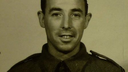 SAS Sgt Frank Ernest Terry-Hall. Picture: Submitted by Frank Guest