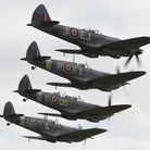 The Battle of Britain Air Show at IWM Duxford will culminate in a mass flypast of Supermarine Spitfi