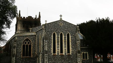 A fire tore through Royston's St John the Baptist Church in Melbourn Street in December last year. P