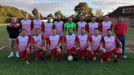 Needingworth United pictured during last season. Picture: SUBMITTED