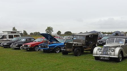 The Little Gransden Air and Classic Car Show. Picture: ARCHANT