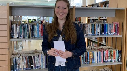 Meridian School A-level results: Alice Williams achieved four B grades and is off to Lancaster Unive