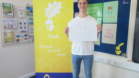 Tyler Gould from Sawtry Village Academy