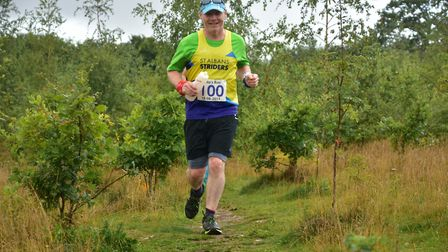 St Albans Striders' Mark Travers at Leila's Run in Wheathampstead. Picture: RICHARD UNDERWOOD