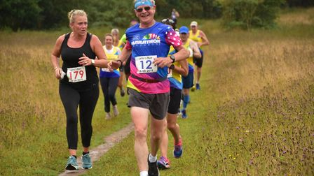 St Albans Striders' Jack Brooks at Leila's Run in Wheathampstead. Picture: RICHARD UNDERWOOD