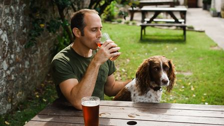 A Harpenden pub is offering free drinks for people who bring their dog to the bar on National Dog Da