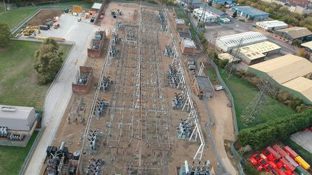 The power station at Little Barford is to be upgraded. Picture: CONTRIBUTED