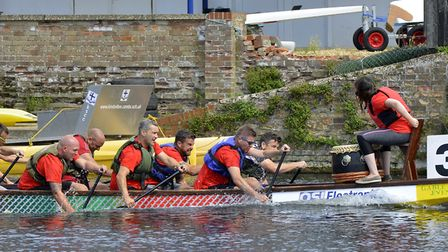 The annual Dragon Boat Festival in St Neots. Picture: DUNCAN LAMONT