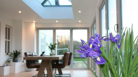 A new conservatory or orangery could prove a great addition to your home. Photo: Admiral Homespace.