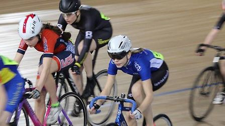 Cycle Club Ashwell's Sophie Lewis is a world champion on the track as part of Great Britain's pursui