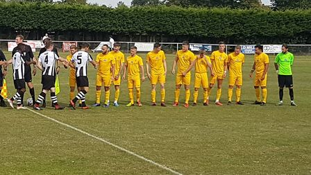 Colney Heath travelled to Long Melford on the Suffolk-Essex border for their preliminary round tie i