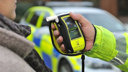 A Huntingdon man has been charged with drink driving