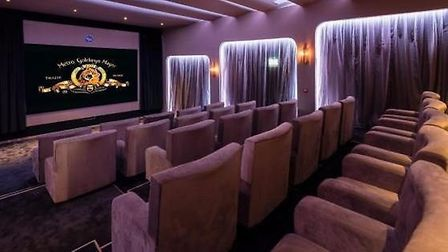 The cinema at The Denham Film Studios. Picture: Rightmove