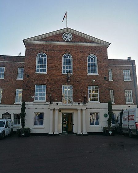 Huntingdon Town Hall. Picture: ARCHANT