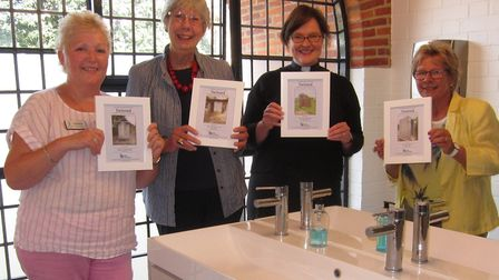 Soroptomists celebrate toilet twinning at St Albans Cathedral. Picture: St Albans Cathedral