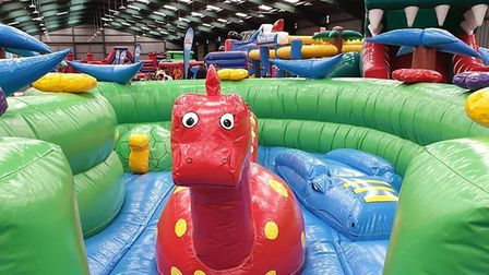 InflataTOTS is back from September 4 on Wednesdays, Thursdays and Fridays from 10am until 3pm. Photo